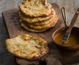Kashmiri garlic naan