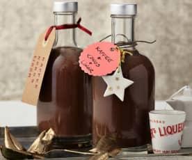 Schneller Kaffee-Kokos-Likör