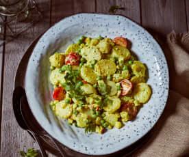Kari bramborový salát