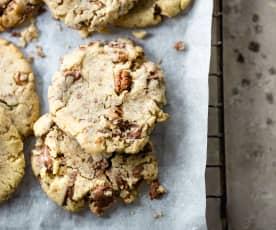 Cookies au chocolat au lait et noix de pécan