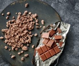 Chocolate con leche rallado grueso (150-200 g)
