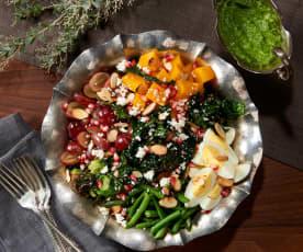 Kale Quinoa Green Goddess Salad (Bill Yosses)