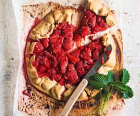 Tarte aux fraises et au poivre du Sichuan