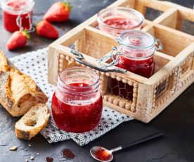 Confiture fraise-gingembre