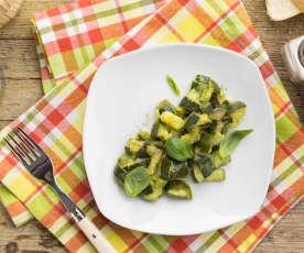Contorno di zucchine (1 porzione)