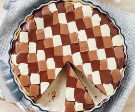 Triple-Chocolate-Tarte