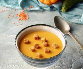 Mercimekli Karışık Sebze Çorbası
