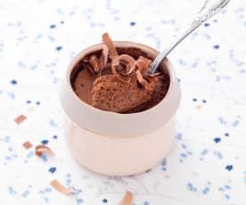 Mousse au chocolat sans œuf