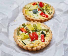 Mini-Gemüse-Quiches