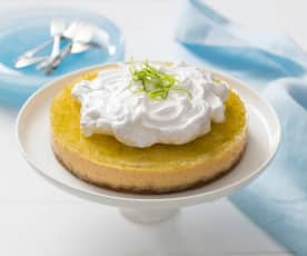 Gin and lime pie