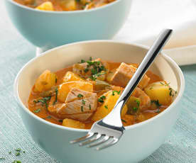 Mijoté de thon aux pommes de terre