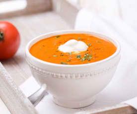 Zupa pomidorowa spod Szrenicy