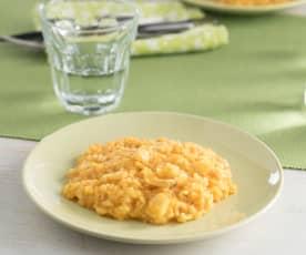 Riso con cipolla e baccalà (per 2 persone)