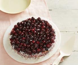 Brombeer-Kuchen