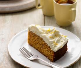 Ciasto marchewkowo-pomarańczowe (bez glutenu)