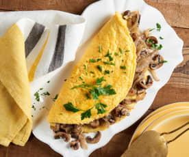 Fluffy Baked Omelet