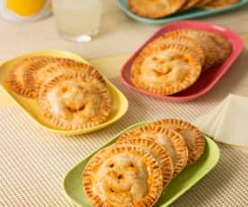 Empanadillas de bonito y pisto