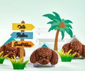 泰迪犬巧克力饼干