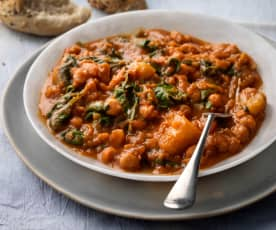 Slow-cooked Chickpea Stew
