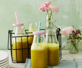 Ananas-Smoothie mit Ingwer