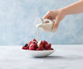 Cashew pouring cream