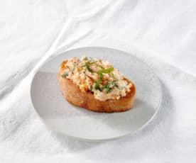 Mozzarella-Bruschette