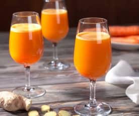 Succo di carota piccante