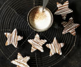 Stelle alla cannella e cioccollato