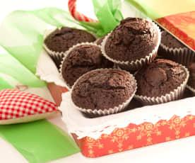 Magdalenas chocolate