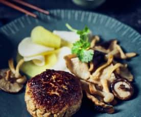 Tofu-Hackfleisch-Frikadellen