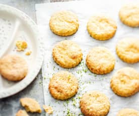 Baby-friendly Cheesy Broccoli Biscuits