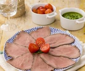 Roastbeef in salsa verde