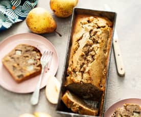 Cake poire-sarrasin
