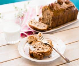 Gâteau noix de pécan-sirop d'érable