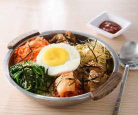 韓式牛肉拌飯