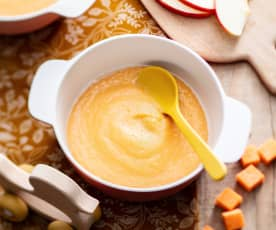 Pear, Apple and Sweet Potato Purée