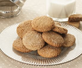 Honig-Vollkorn-Cookies