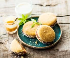 Alfajores (Biscuits fourrés à la confiture de lait)
