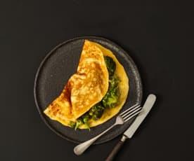 Brokkoli-Omelettes