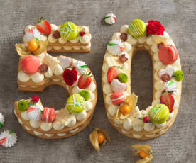 Number Cake 50 Jahre Thermomix®