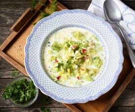 Okroschka (Kalte Suppe)