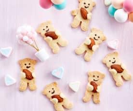 小熊抱抱饼干