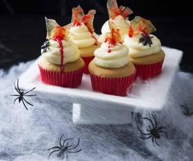 Scream cupcakes