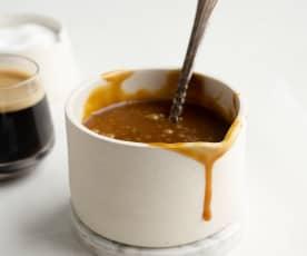 Salsa caramello al caffè
