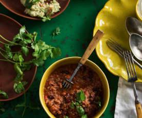 Pomalu vařené chilli con carne