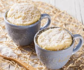 Mug cake con coco (Vegano)