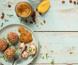 Pfirsich-Curry-Chutney
