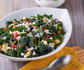 Lentil, Cauliflower and Kale Salad
