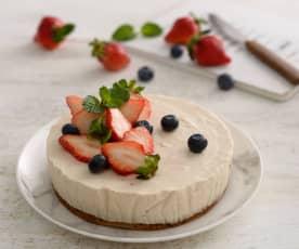 草莓乳酪蛋糕(無麩質)