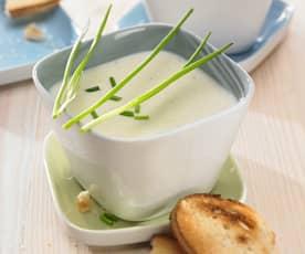 Weißwein-Suppe